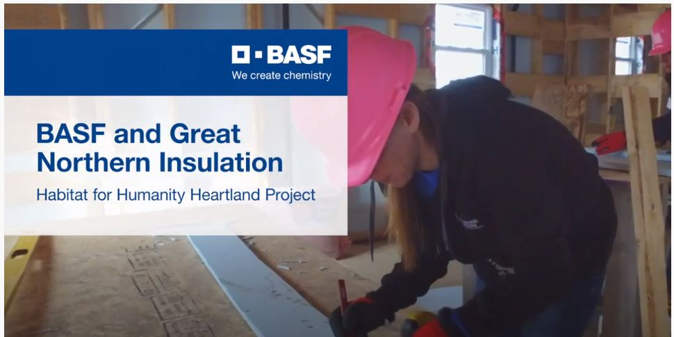 BASF and @GNInsulation have teamed up to support affordable homeownership. Together we have been able to provide product and labour for two homes being built by @HabitatCanada in London, Ontario. See the whole story here--> https://t.co/6o3afYsSfh #GivingBack #StrongerTogether https://t.co/s6JBRyABXq