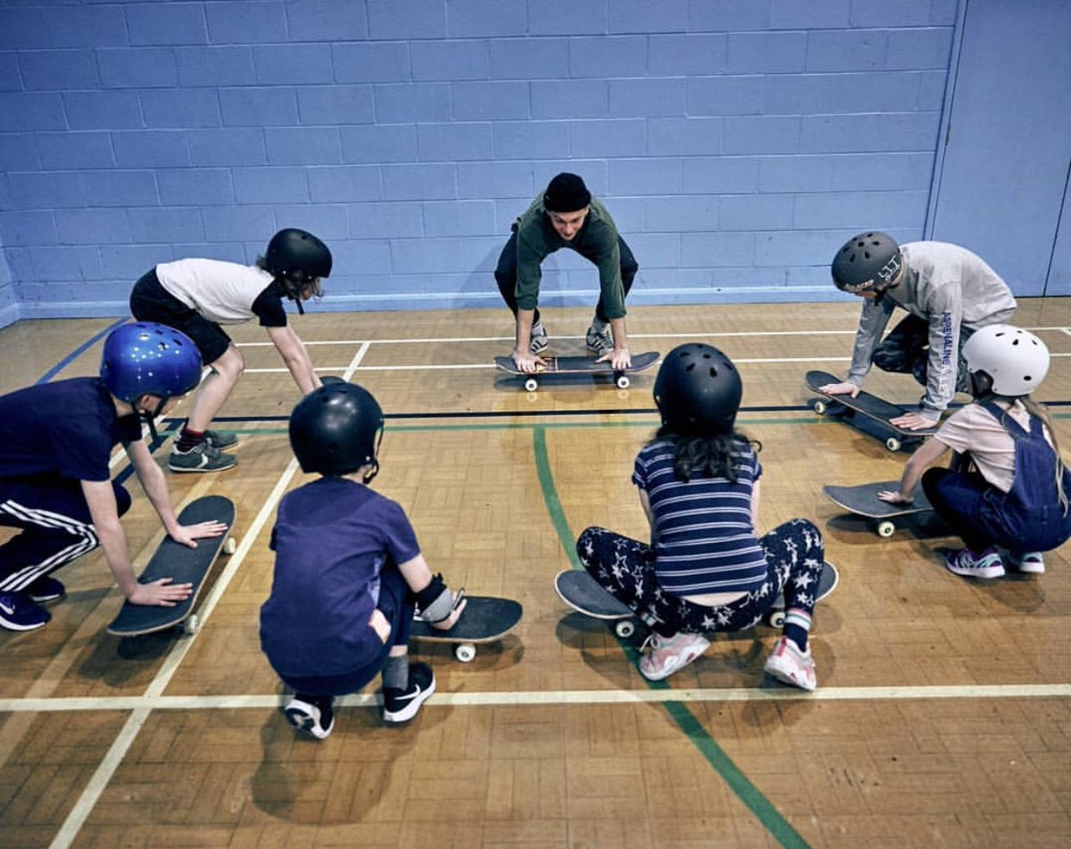 Last week we announced our 2020 partner selection!  One of the organizations we selected was Skate Nottingham: a social skateboarding project dedicated improving their area through a diverse range of skate-focussed programming!   Find out more: https://t.co/XUej3gXhL2 https://t.co/w2o7CIraeb