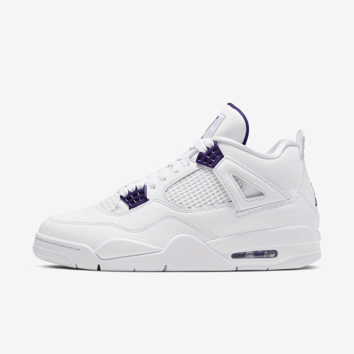 """Jordan 4 Retro """"Purple Metallic"""