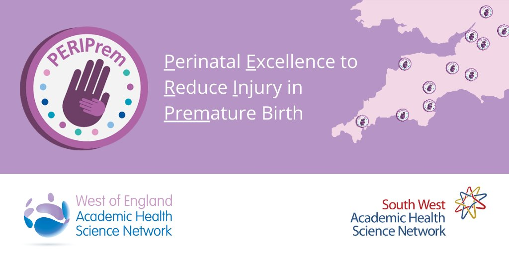 Today we launch #PERIPrem - a collaboration between the @sw_ahsn and @WEAHSN to pilot test a new care bundle to reduce rates of brain injury & death in #premature babies born in the West & South West of England. Read more https://t.co/yJNQo0CQUB and follow progress at @peri_prem https://t.co/bGKgmj4FGx