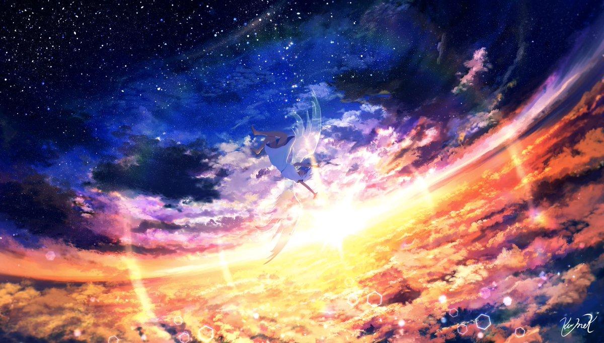 クメキ בטוויטר アスノヨゾラ哨戒班 Orangestarさんで一番好きな曲のファンアートです
