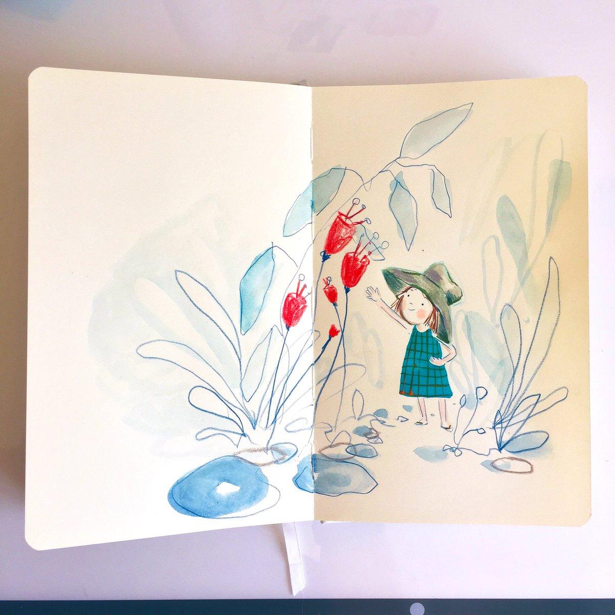 Sun-hat weather.  #sketchbook pic.twitter.com/sTc7v2orrN