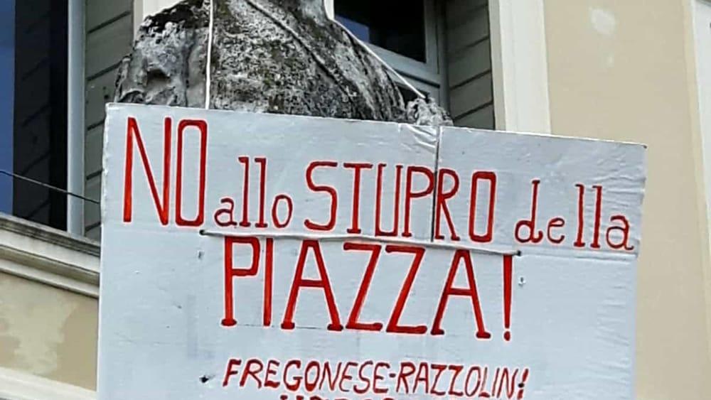 Valdobbiadene, cartello contro sindaco e vicesinda...