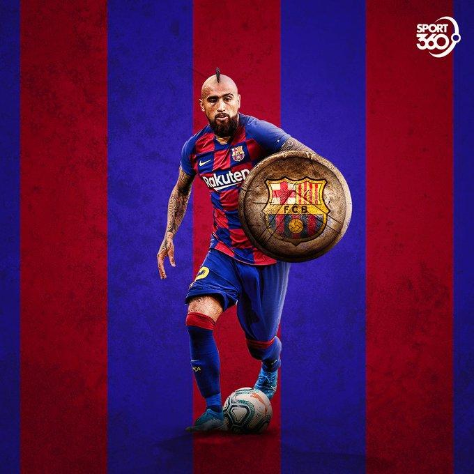 Barcelona\s Warrior   Happy birthday to Arturo Vidal who is 3  3  today