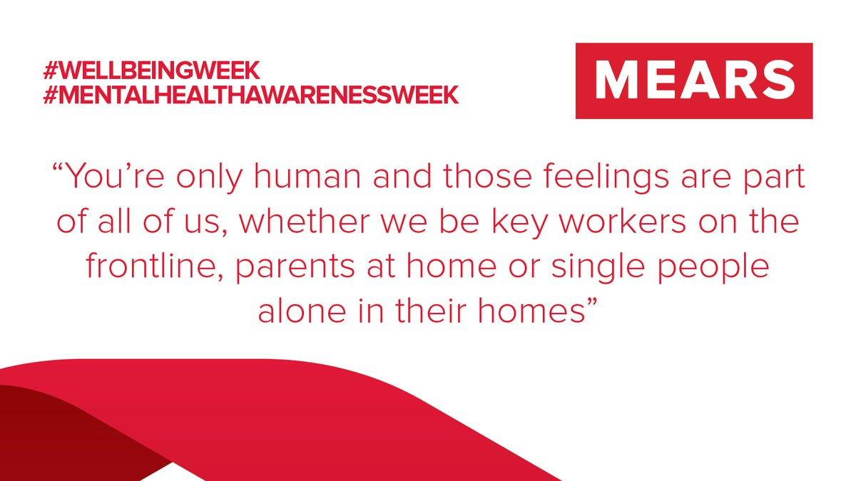 At Mears, we have a handy team of Mental Health First Aiders who give us support and advice when we need it.   Mental Health First Aider, Michael has written a blog post on managing stress during this time: https://t.co/KwaxC7rJu3   #Wellnessweek #MentalHealthAwarenessWeek https://t.co/MaMINYaEJy