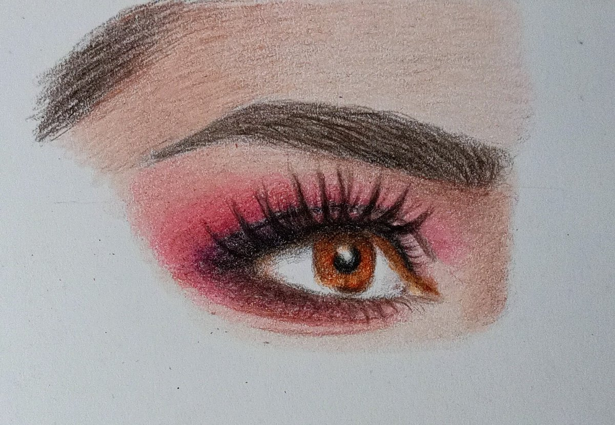 #sketch #art #pencilart #ArtistOnTwitter #drawing #colourportrait #eyesketch #archanasketches https://t.co/r3wNP4OzGP