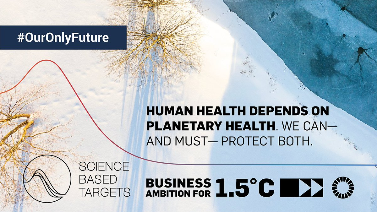 In the face of #COVID19 and the #ClimateCrisis, we must work together for a better future for people and our planet 🌍  Read the @sciencetargets CEO statement calling on governments to take #ClimateAction for #OurOnlyFuture: https://t.co/2OtFPP6HJ4 https://t.co/a6g9WKD3pI