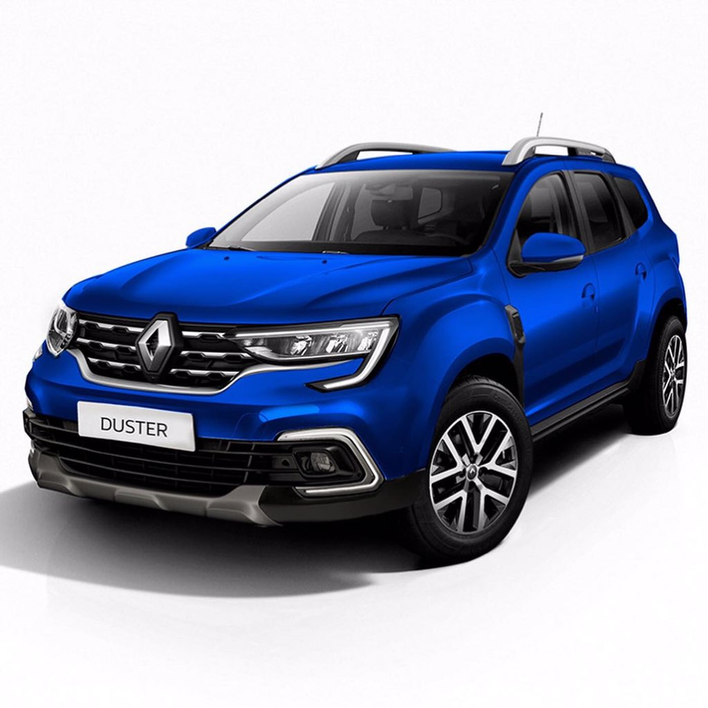 Will the next Gen Renault Duster look like this? Rendered by #saopaulo designer Kleber Silva. pic.twitter.com/n6G8z0Ph14