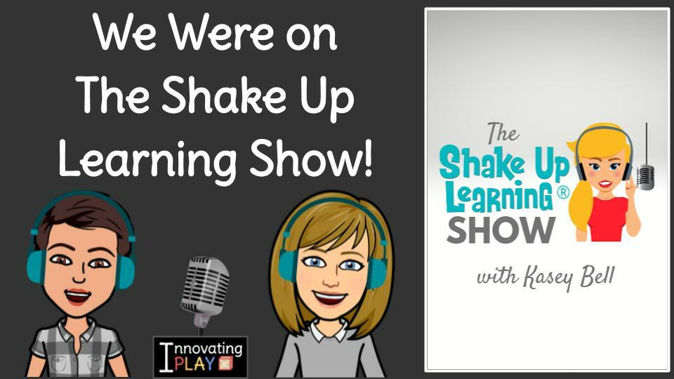 We were on 🎙️The #ShakeUpLearning Show with Kasey Bell!🎙️Tune into Episode 58:🏠Home Learning Strategies for Primary Students that ALL Teachers Can Use!👩🏫👧🏾👦👨🏽🏫 #InnovatingPlay #GAfE4Littles #gttribe #bettertogether #edtechchat bit.ly/3arqVx2