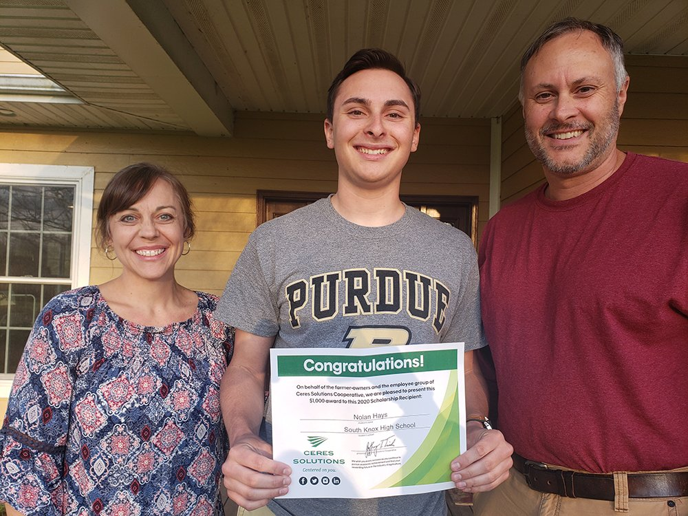PROUD TO SUPPORT FUTURE LEADERS THROUGH SCHOLARSHIP •Nolan Hays of Vincennes, IN- Nolan is the son of Frank and Marcy Hays and will head to Purdue University this fall to pursue a degree in Computer Engineering CONGRATULATIONS TO ALL 2020 GRADUATES! https://t.co/5KN42OqBr3