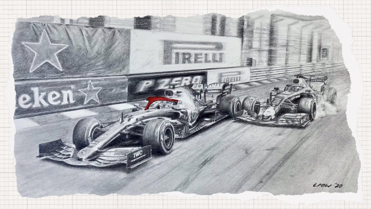 We may not be heading to Monte Carlo for the #MonacoGP, but let #PETRONASmotorsports Trackside Fluid Engineer, En De Liow, take you back to 2019 in this week's ISO Sketchbook 📝  A tribute to Niki ❤️ and a brilliant drive from @LewisHamilton 👏 https://t.co/BOxq9eqPzC