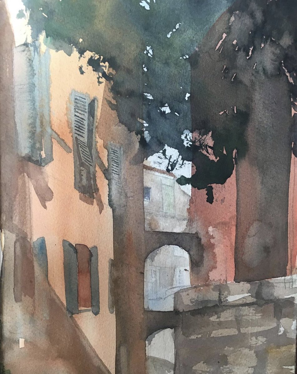 Jun Pierre Shiozawa On Twitter Next Week I Will Be Teaching My First Organized Online Watercolor Course There Will Be 6 Two Hour Sessions Altogether From Monday May 25 To Friday June 5