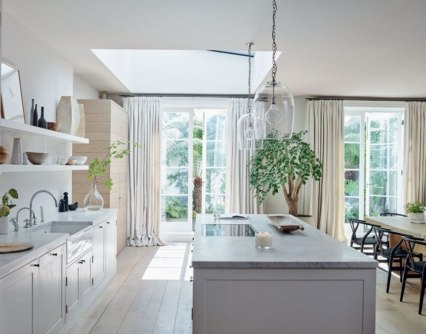 This week, our founder, Chrissie Rucker OBE, talked to @countryandtownhouse about the inspiration behind her London home https://t.co/6LgQrHMUIB  (Image: 'For The Love Of White', kitchen design and antiques by @roseunaike, garden planting by @harrisbugstudio) https://t.co/mrndvVg3qq