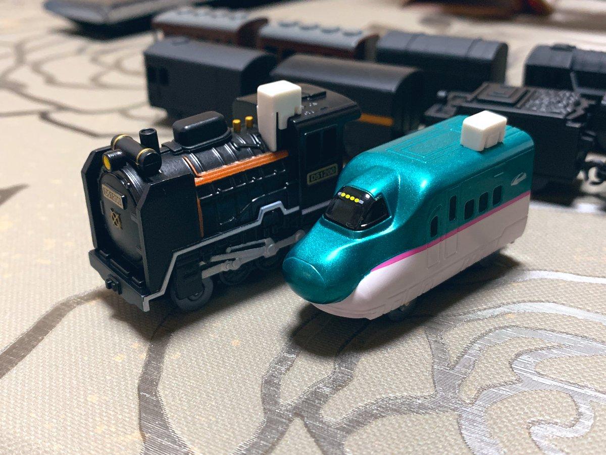 車 カプセル プラレール モーター