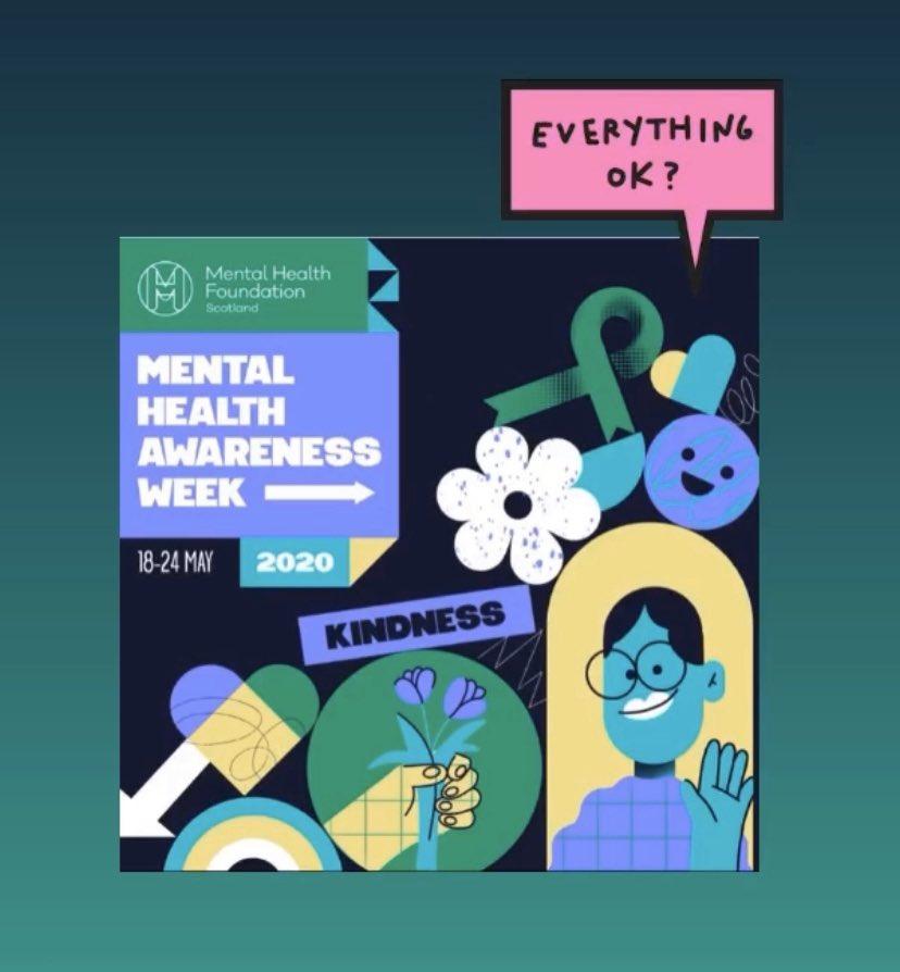 #MentalHealthAwarenessWeek2020 #areyouokay https://t.co/wor65oiCjb