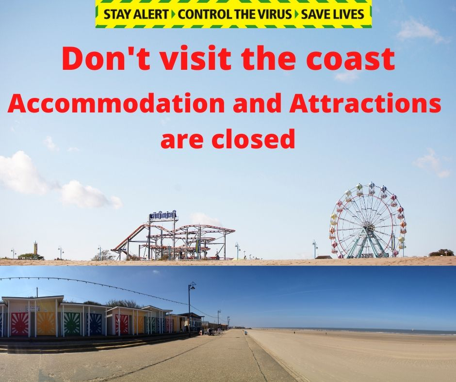 We want to welcome you another day.  But not today.   Keep going, you're doing your bit to #SaveLives, don't spoil it now…please stay away from the coast to help #ControltheVirus   Waiting...https://t.co/69Y9HxFQbZ https://t.co/tLdunq3H3l