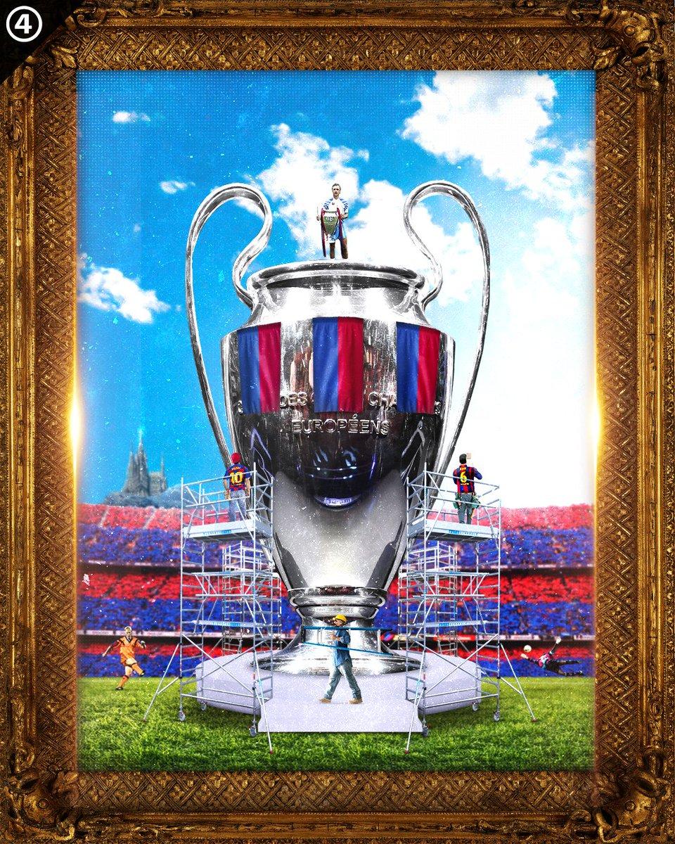 🔙 #OTD in 1992, @FCBarcelona won its first Champions League! 🏆 #CruyffLegacy 📸 @433