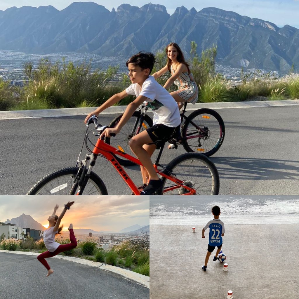 Workout Wednesday! Riding Bicycles, Dancing and Training Soccer #ASFMspirit #ASFMlearns #distancelearningASFM @ASFM_official @ASFMELEMpic.twitter.com/Fc6Xp047Ec