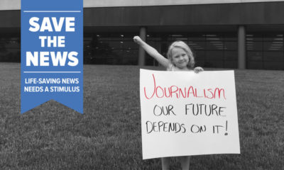 If not for local news, Americans would lose a vital way to:   - learn life-saving information - hold governments and businesses accountable - take an active role in their communities   Sign our petition and share stories you value to help #SaveTheNews: https://t.co/m59db5fp6o https://t.co/v8J3DutZLl