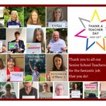 Image for the Tweet beginning: We've been celebrating #ThankATeacherDay and