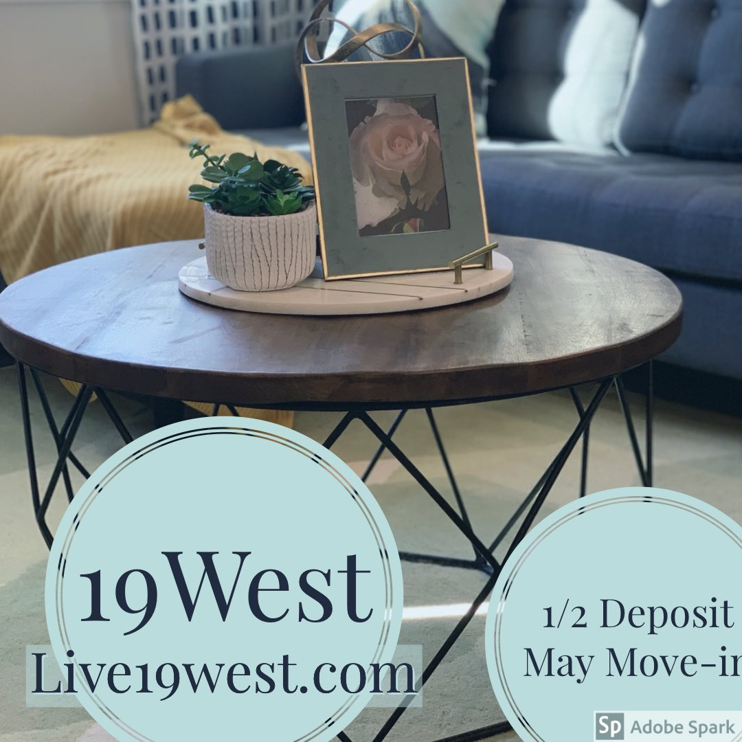 #lubbockapartments #love19west #lubbockapartmentassociation  #fall2019 #luxuryliving #luxuryapartments #goingfast #cozyliving #lovewhereyoulive #livewhereyoulove #frenshipschool #ttu #lcu #spc