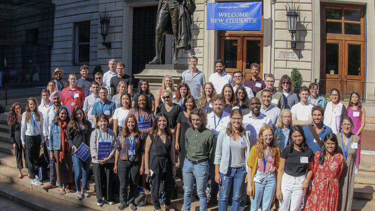 Congrats to the @ColumbiaJournMA Class of 2020, who graduate from @Columbia today! You all traveled far and wide to report remarkable stories this year, and we look forward to seeing what you accomplish next. We can't wait to welcome you back to Pulitzer Hall soon. #RoarLions2020 https://t.co/4iCl1o0UuB