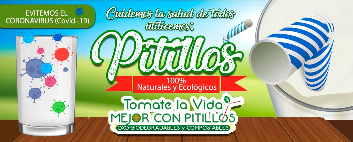 #OxoBiodegradable #Covid #CuidoElPlaneta #Pitillos #IndustriaColombianapic.twitter.com/1bHEF2kxP9