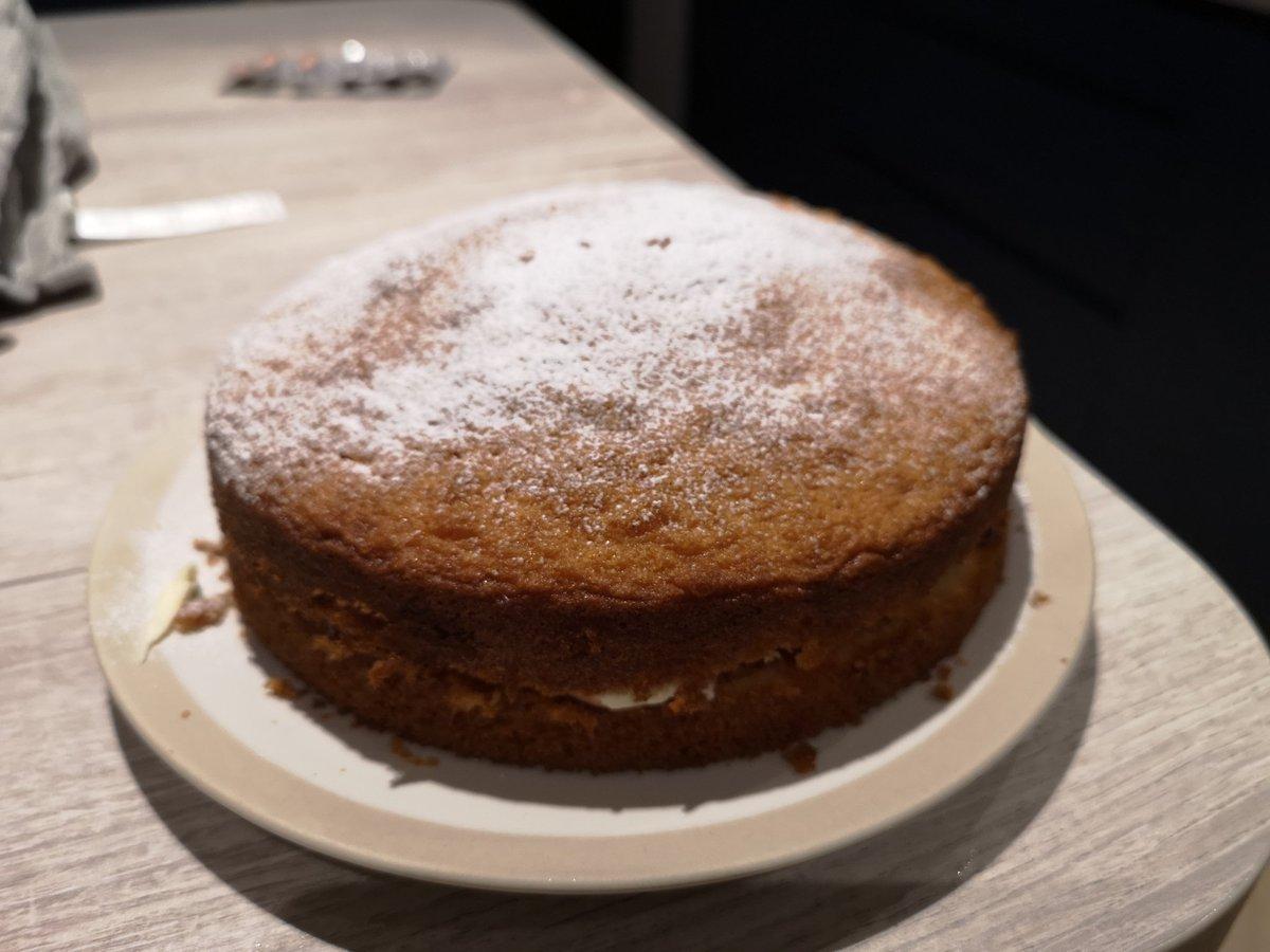 Having never previously made a cake, I chose @NCWSkillsDays to produce my first ever voctoria sponge   don't think it looks too bad. . . #MySkills pic.twitter.com/D6VMvRIY3z