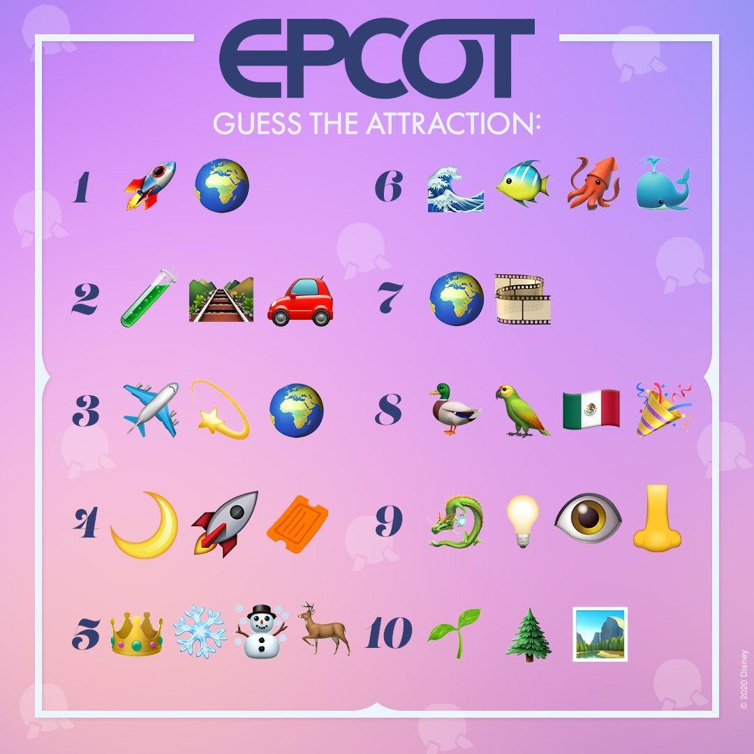 Can you identify these EPCOT attractions at @WaltDisneyWorld? 🔎 Share your answers in the replies! #DisneyMagicMoments