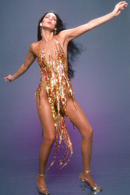 Happy 74th Birthday to Cher, queen of dazzling style! -->   © Getty Images