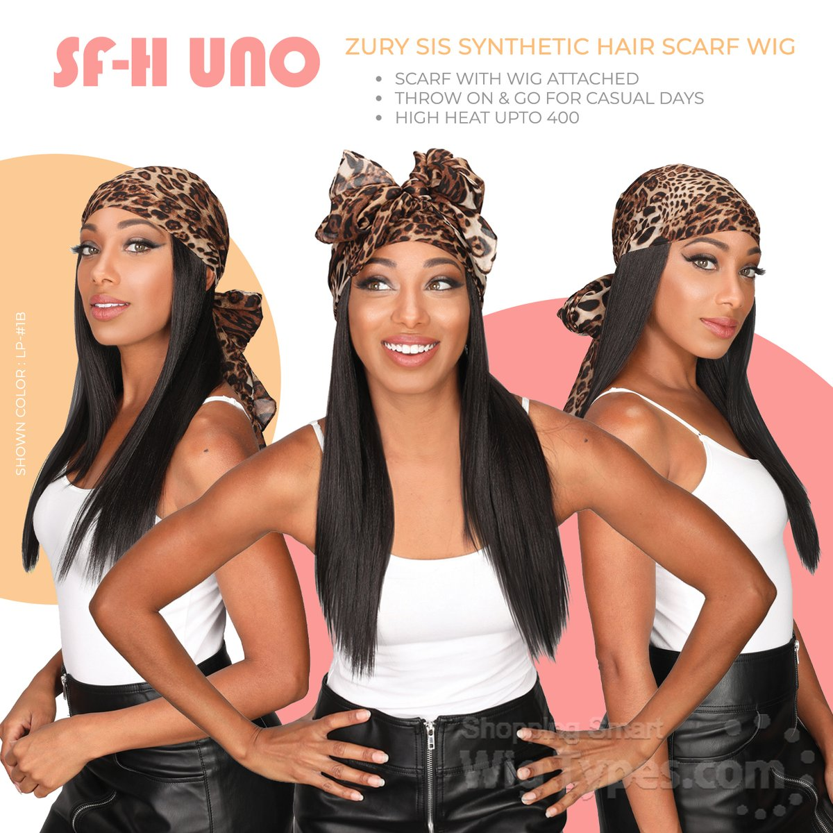 Zury Sis Synthetic Hair Scarf Wig - SF-H UNO (https://soo.nr/LNAq)  Shown Color : LP-#1B . . . . #wigtypes #wigtypesdotcom #trendywig #protectivestyles #blackgirlhair #blackgirlmagic #instahair #Longwigs #scarfwig #zurysis #scarfwithwigattached #sfhunopic.twitter.com/ZdxyiVqPuh