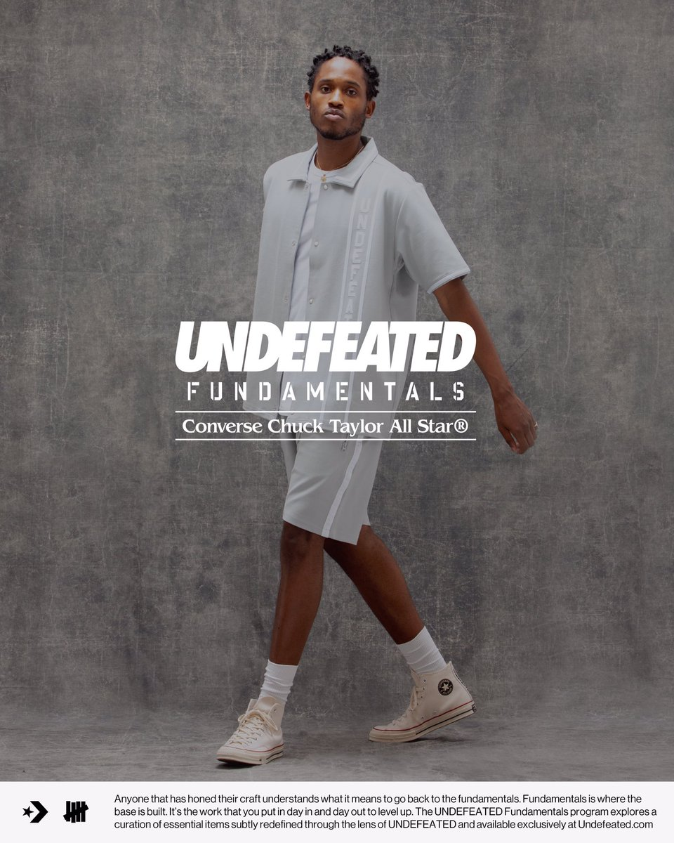 The UNDEFEATED FUNDAMENTALS CONVERSE Chuck 70 will be available in Parchment and Black, Friday 05/22 exclusively at  http:// Undefeated.com    <br>http://pic.twitter.com/fKTW7cqmRP