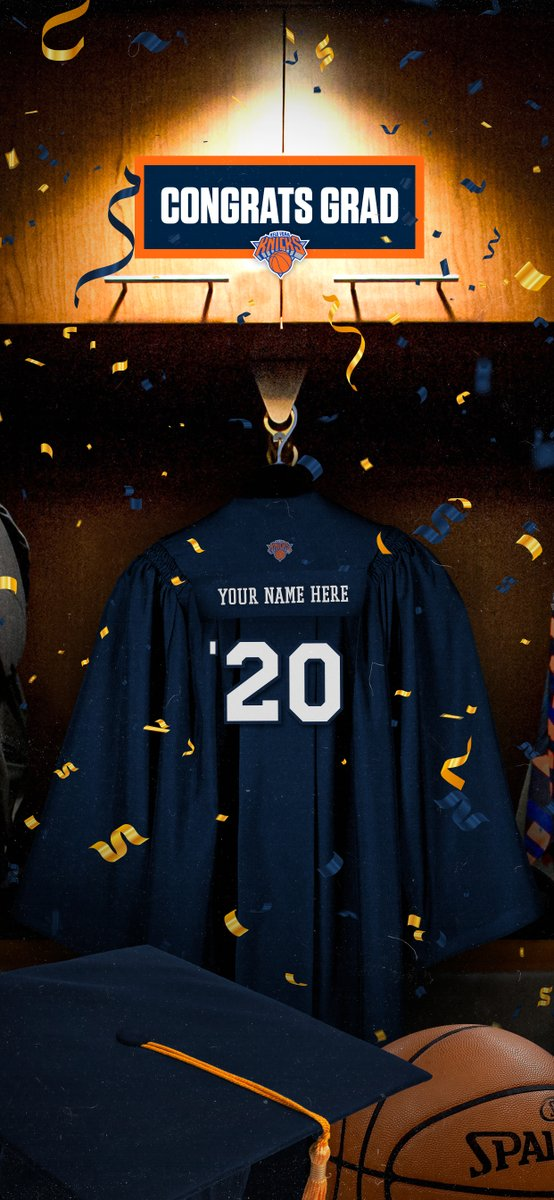 This one's for the Class of 2020!  We're doing a round of custom jerseys for our graduates. Reply with your name to see if you're among the 𝟐𝟎𝟎 selected 🎓 https://t.co/Nt3WNL4OXQ
