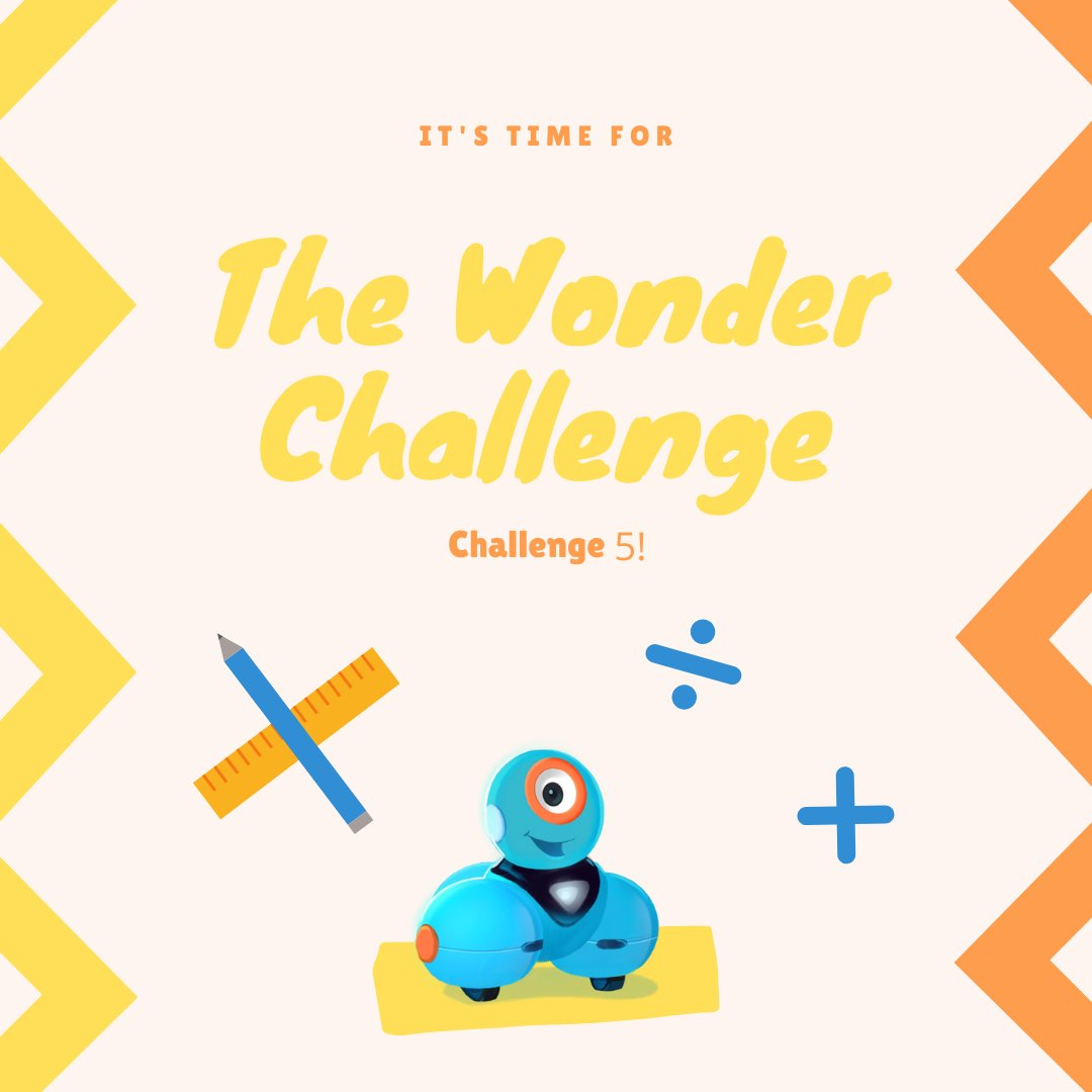 Whos ready for the #WonderChallenge 5? Solve as many or as little as you like & be entered to win some fabulous prizes. Keep your students & their families engaged, problem solving & having fun! No robots needed for most. bit.ly/3aoascZ