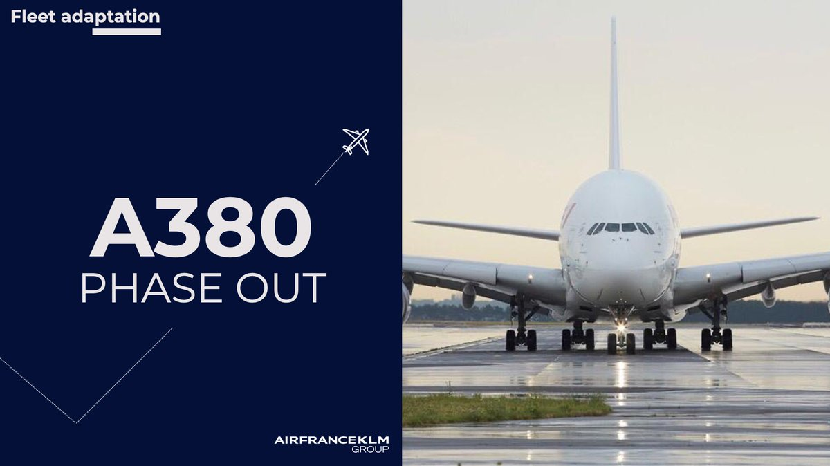 In the context of the current #COVID19 crisis and its impact on anticipated activity levels, the #AirFranceKLM Group announces the definitive end of #AirFrance Airbus #A380 operations, initially scheduled by the end of 2022.  More details 👉 https://t.co/wL4EsUNPpY https://t.co/ZY0YWR8nD3