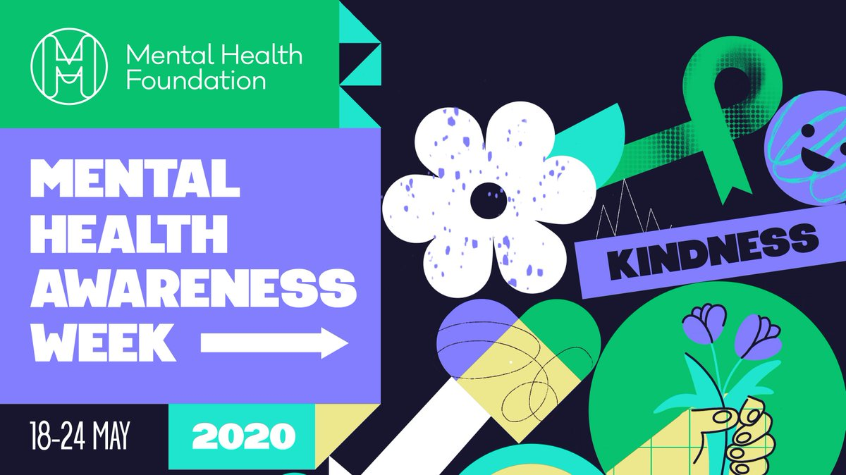 Get involved in Mental Health Awareness Week 18–24 May and share your acts of kindness with us on Instagram and Twitter by tagging @UCL_Wellbeing and #KindUCL, or post them on the Remote, not Distant at UCL virtual wall: https://t.co/zpfpEtWQsI 🌼 https://t.co/T0f99v9m4F