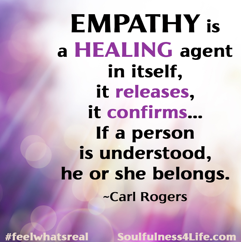 """SOULfirmation:""""EMPATHY HEALS"""">>>SOULQuestions: Who in your life needs your authentic and deep empathy right now? Do you create and accept opportunities for others to show YOU empathy? #WednesdayWisdom #quotes #inspiration #mindfulness #empathy #compassion #healing #transformation https://t.co/Bo8ITqujEK"""