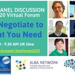 Image for the Tweet beginning: ALBA-@FensKavliNet panel discussion on #negotiation