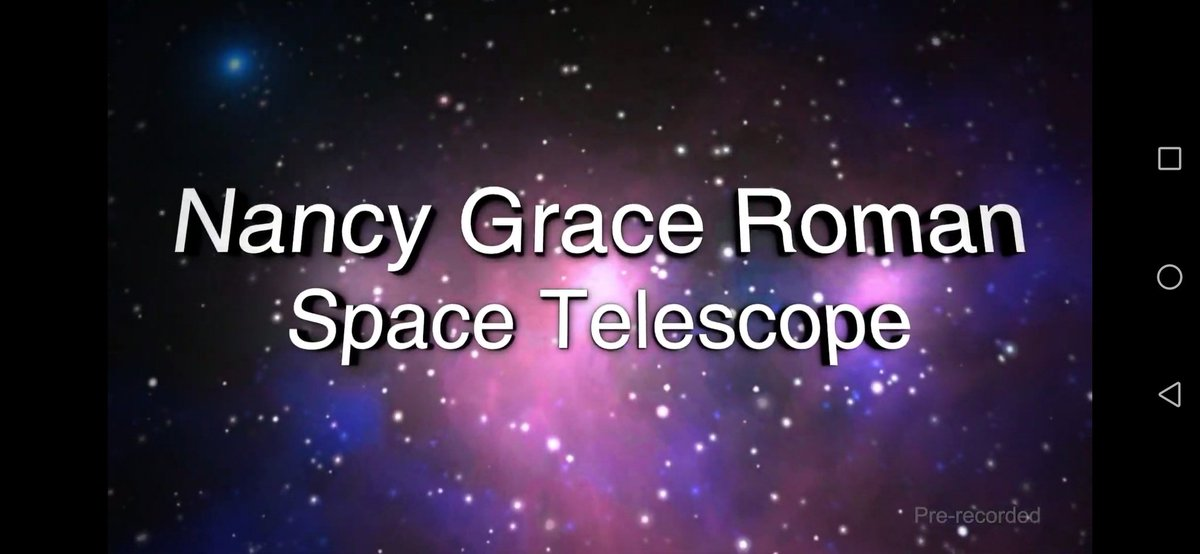 Exciting! The @NASAWFIRST mission named after Nancy Grace Roman, an american astronomer and pioneer whose ingenuity, intellect and advocacy has pushed space astronomy to where it is today. The #WFIRST mission will probe the IR universe to help us understand dark energy and more! https://t.co/y3HONQwwsi