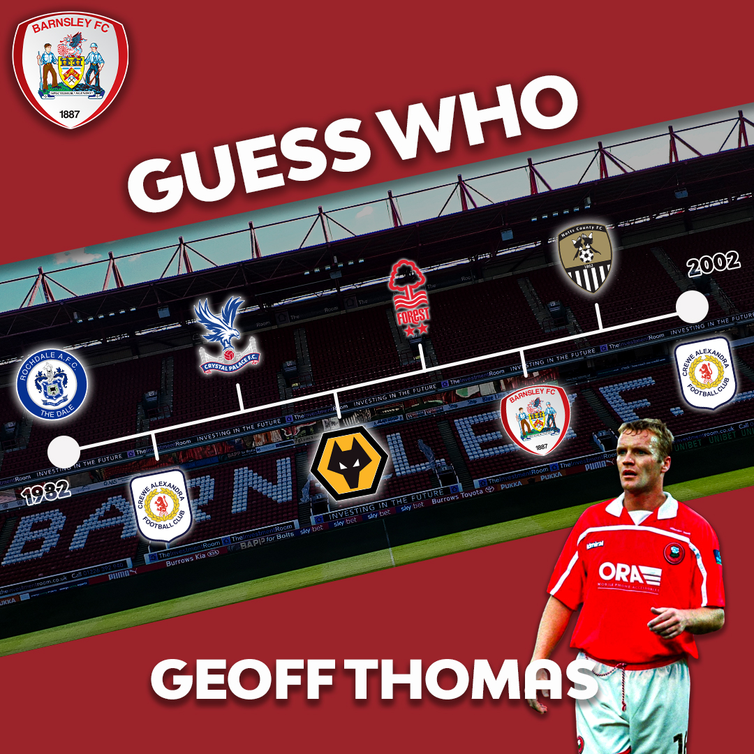👏 Well done to those who guessed Geoff Thomas! #YouReds