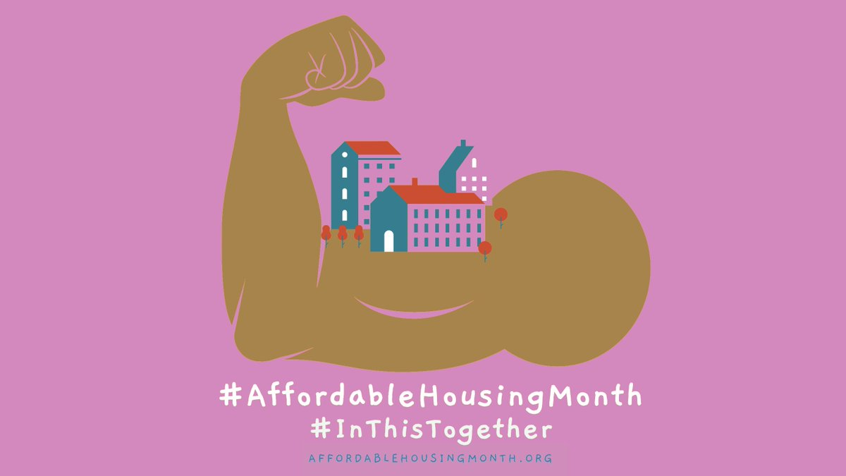 Strong communities with healthy economies start with safe, affordable housing. #AffordableHousingMonth