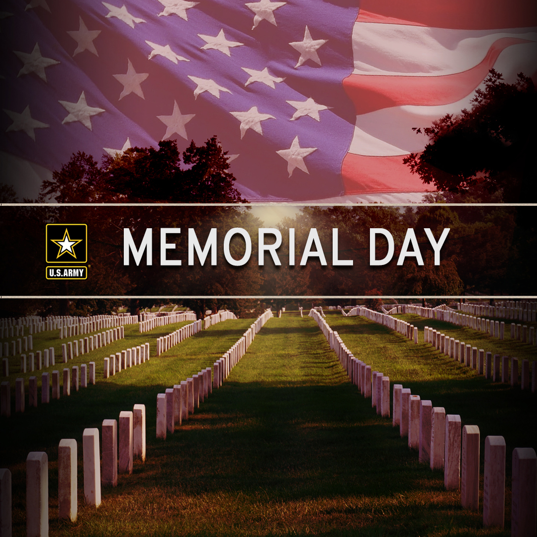On Memorial Day, we honor those who gave the ultimate sacrifice. #MemorialDay #HonorThem #ProudToServe