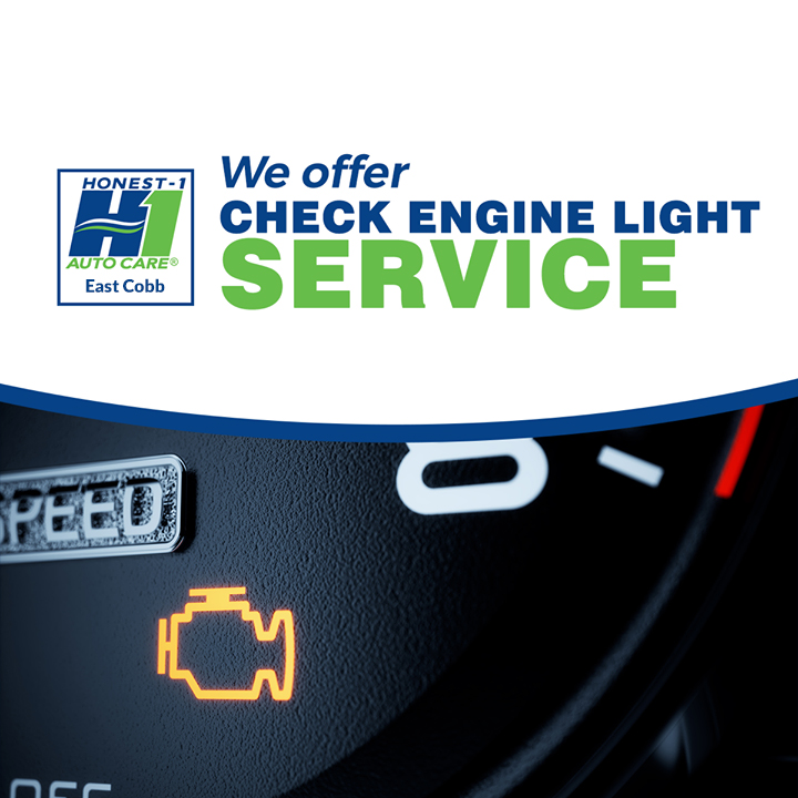 Has your check engine light come on? We've got you covered East Cobb! Give us a call and we'll give you an appointment asap to get everything squared away. #QualityService #HappyWednesday #SafetyisOurPriority #CarTrouble #Honest1Difference #CarService #EngineRepair #EastCobbpic.twitter.com/PUuKpojsXE