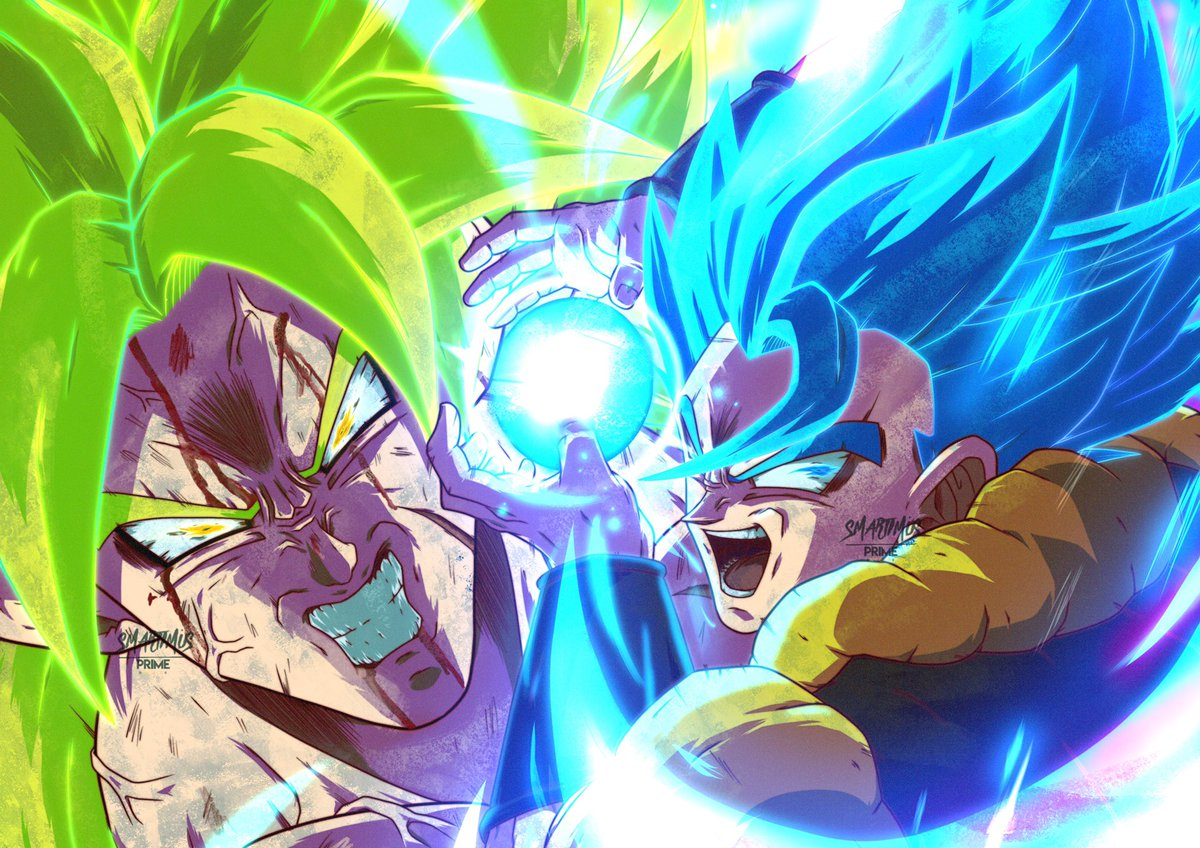 Gogeta VS Broly <br>http://pic.twitter.com/BHpmlQCDkw