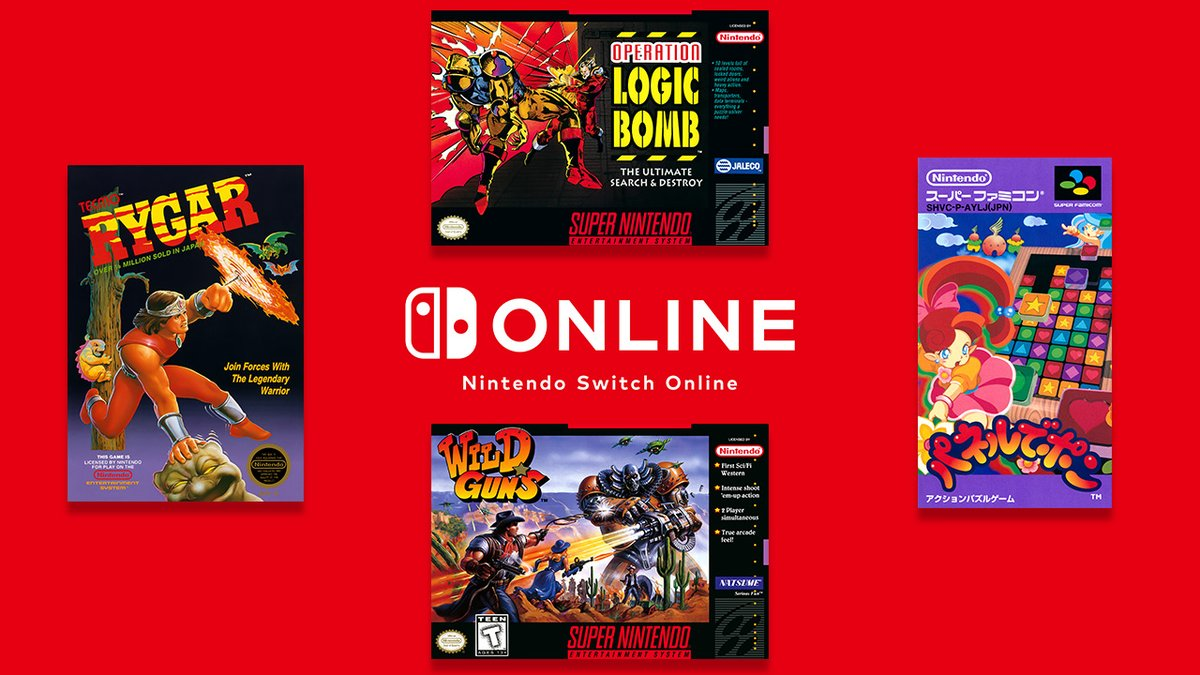 More games have now been added to the #NES & #SNES – #NintendoSwitchOnline collections of games, including Panel de Pon, Rygar, and more!