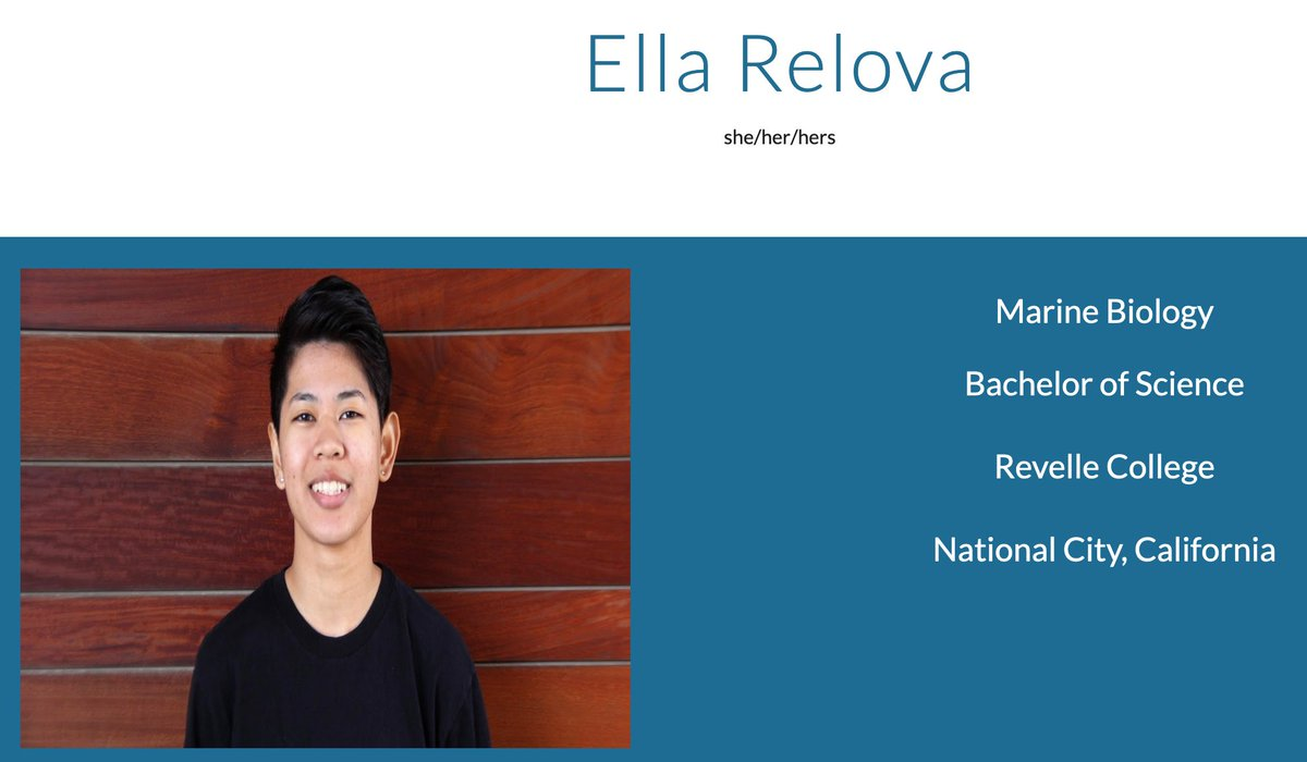 One our Bookstore textbook leads is featured on #FirstGenUC, congrats Ella! Do you know an exceptional student is who is also a first-gen triton and graduating this year? Nominate them here:   #NewUCGrad #Classof2020 #celebrateFirstGen #FirstGenForward