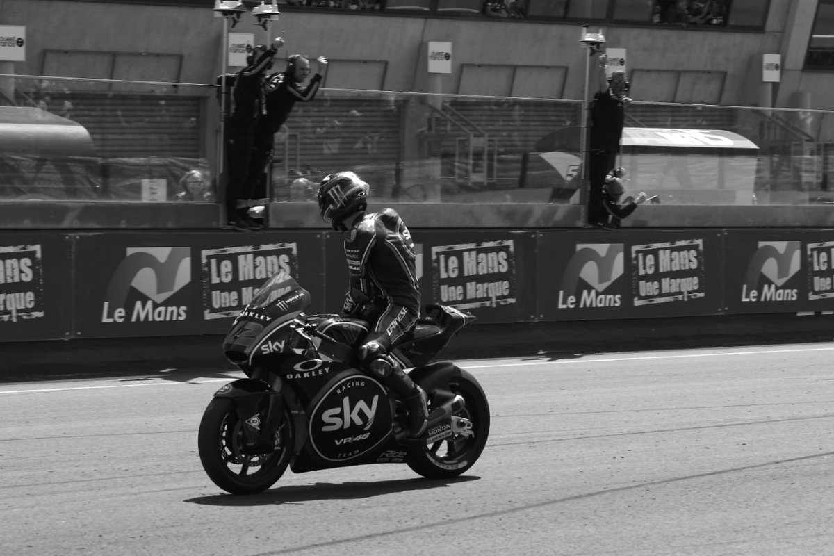 🏆 An imperial victory for @PeccoBagnaia in Le Mans, who led the #FrenchGP since the first corner! 🙌🥇 #OnThisDay #SkyVR46 @MotoGP