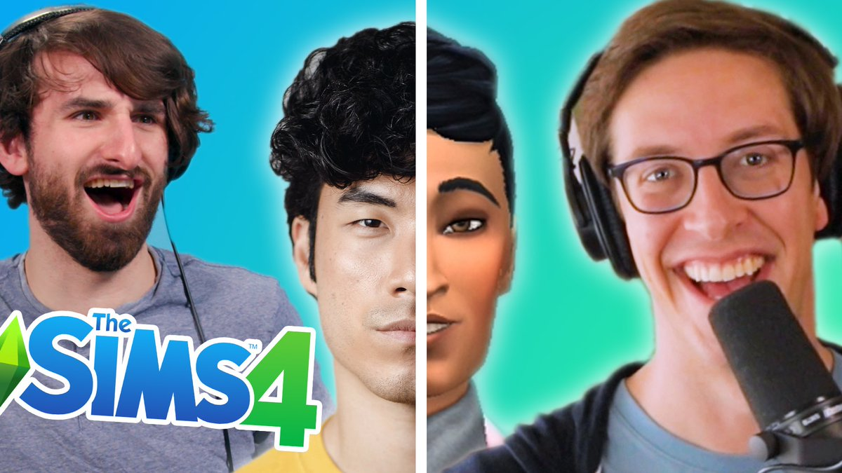 Watch us return to @TheSims universe as @milesbon and I control the other @tryguys! youtu.be/hAMckBe9Bdo