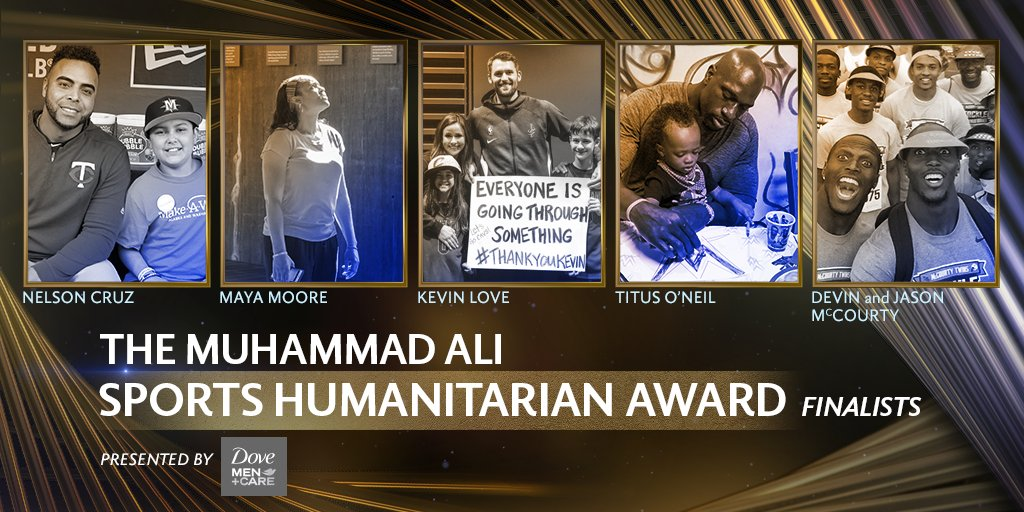Congratulations to Maya Moore for being named a 2020 Muhammad Ali #SportsHumanitarian Award finalist! 👏 https://t.co/MeVVhCJ0KA