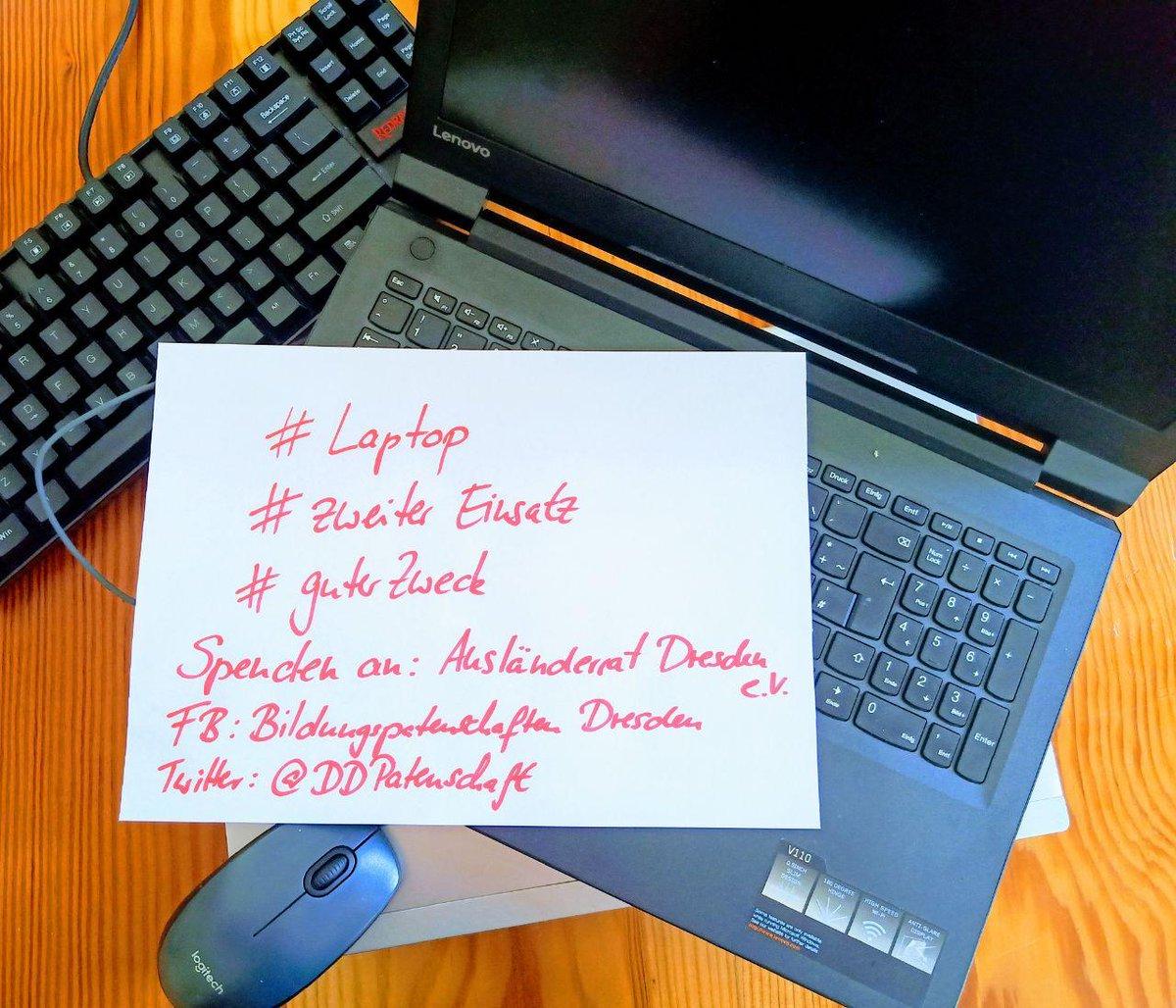 Unsere Bildungspatenschaften möchten künftig ihre Kids mit Rechentechnik ausstatten – bitte unterstützt diese wichtige Aktion! Gern auch weitersagen: auslaenderrat.de/2020/05/20/auf… #dresden #laptop #zweiterEinsatz #guterZweck